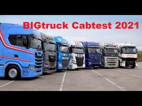 BIGtruck Cabtest 2021   7 Brands compilation