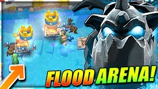 NEW 'WATER ARENA' ALL AIR CHALLENGE!! TAKE TO THE SKIES!!