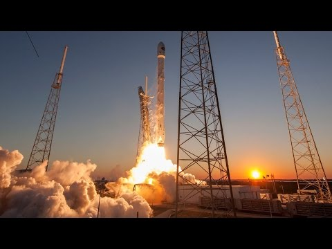 Space-X Falcon 9 - Liftoff / Prelaunch Footage - Inmarsat 5 F4 Launch Mirror And Discussion - Part 0