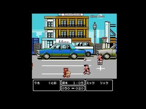 Kunio-kun Basketball Montage (NES/Famicom)