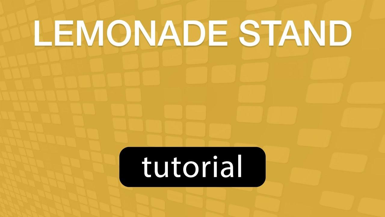GoVenture Lemonade Stand V2.0 (Training Video)