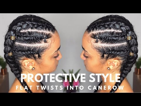 hairstyle:-flat-twists-into-cornrow-|-natural-hair-|-abbiecurls