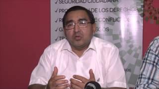 Rueda de Prensa 04 de Marzo Cierre Definitivo Cárcel de Vinces
