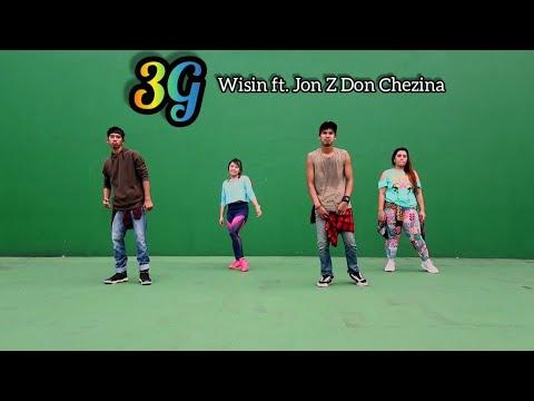 Wisin - 3G  ft Jon Z Don Chezina  ZUMBA  FITNESS  At Balikpapan