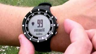 suunto Quest - How to start the training function
