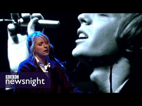 BBC Proms: Susanne Sundfør sings Scott Walker's On Your Own Again LIVE - BBC Newsnight