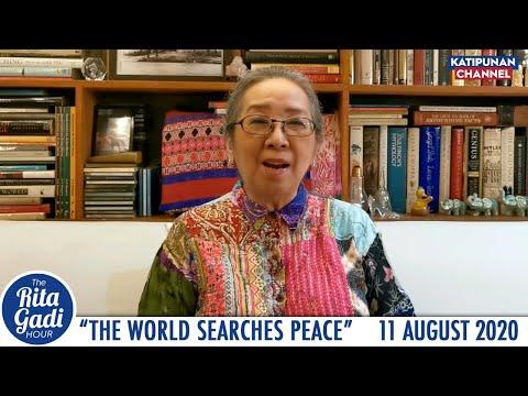 The World Searches Peace | The Rita Gadi Hour