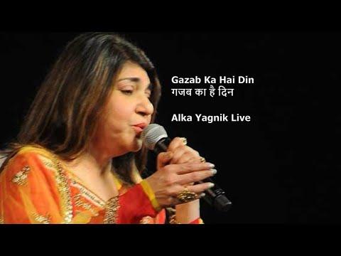 Gazab Ka Hai Din || Alka Yagnik's Best Live Concert