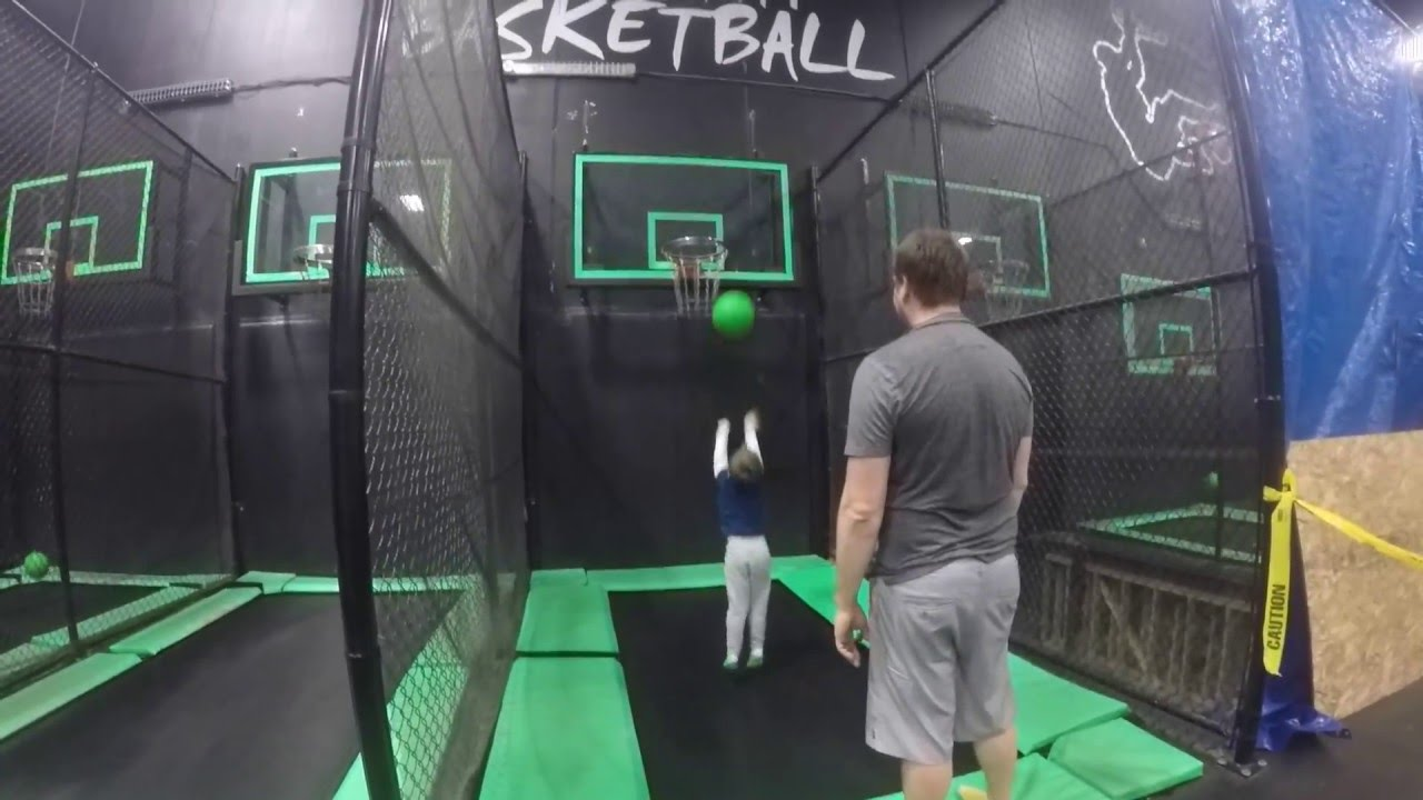 family fun at extreme air park in richmond youtube. Black Bedroom Furniture Sets. Home Design Ideas
