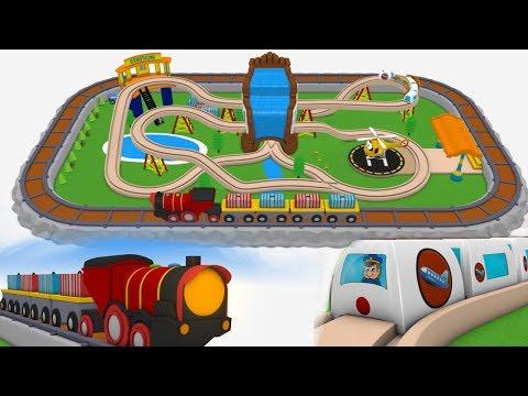 trains for children - cartoon for kids - chu trains - train videos for children - trains