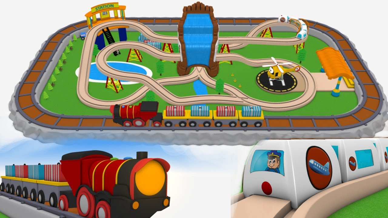 Trains For Children Cartoon For Kids Chu Trains Train Videos For Children Trains Youtube