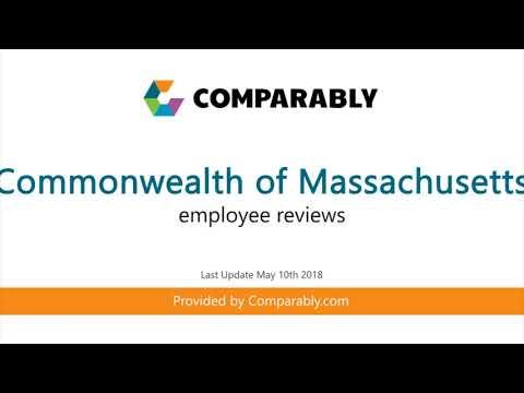 Working At Commonwealth Of Massachusetts - May 2018