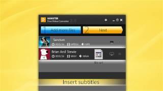 Hamster Free Video Converter как скачать, установить и пользоваться