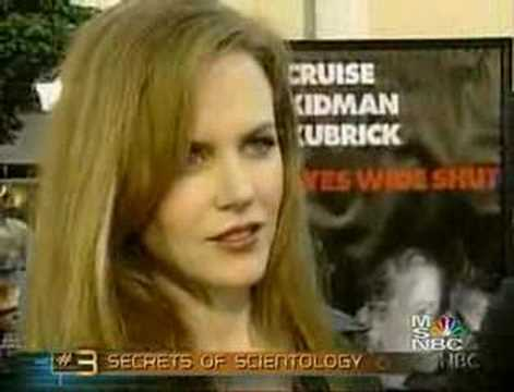 Some crazy scientology stuff