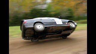 BMW rallying on the edge