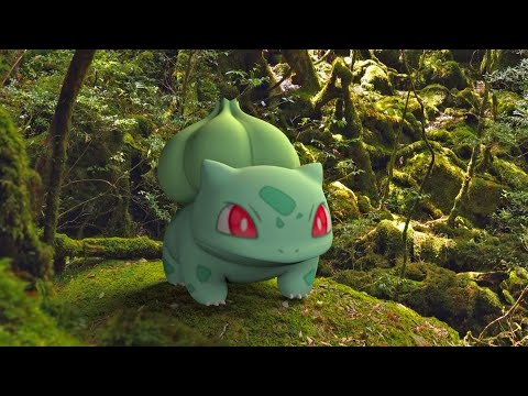 Bulbasaur, Ivysaur & Venusaur IN REAL LIFE - The World Of Pokémon (3D Animation)