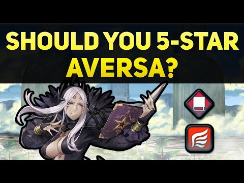 Should You 5-Star Aversa? (A Free Flying Red Mage!) | Fire Emblem Heroes Guide