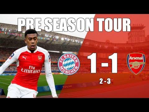Bayern Munich 1 v 1 Arsenal (2-3 Penalties) | First Trophy Of The Season Won