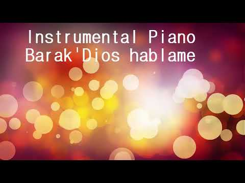 Dios Hablame Instrumental Piano pista