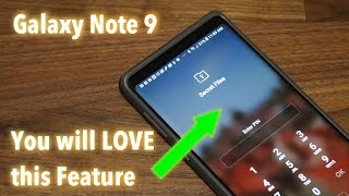 Samsung Galaxy Note 9 - You will LOVE this FEATURE