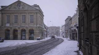 Snowy Devizes Wiltshire 6 January 2010