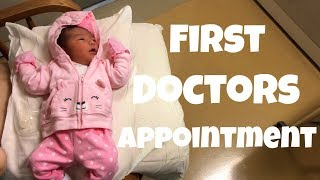 ANESIAS FIRST DOCTORS APPOINTMENT!