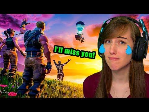 Goodbye Fortnite Ch 1! 💚 I'll Miss You