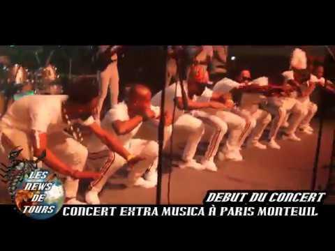 Concert de ROGA ROGA et Extra Musica palais des congrés de Montreuil 2018