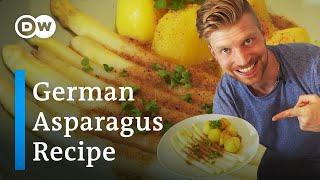 White Asparagus Recipe fŗom Germany | German Food Made Easy | DW Food