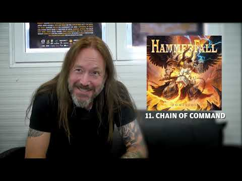 HAMMERFALL - Chain Of Command (Dominion Track by Track) | Napalm Records