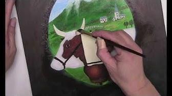 "Peinture Décorative : ""La Poya Majesty"""