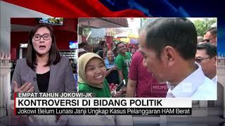 4 Tahun Jokowi-JK, Ini Capaian dan Kontroversi di Bidang Politik