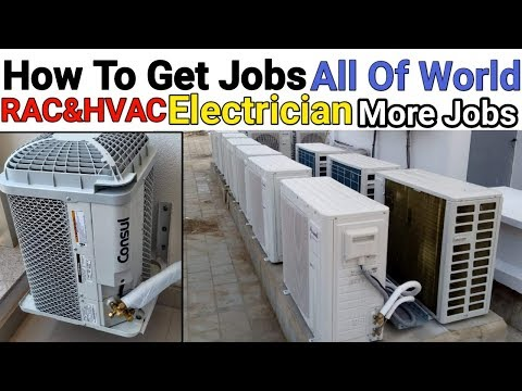 How To Get Jobs RAC,HVAC,Electrician,Plumber And More Jobs | All Of World