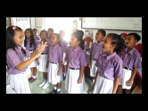 paduan suara indonesia raya SDN 01 Randudongkal