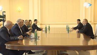 Президент Азербайджана принял делегацию Великого Национального собрания Турции