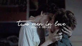 elio + oliver || two men in love