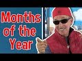 The Months of the Year Rap | Jack Hartmann