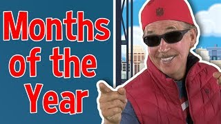 Gambar cover The Months of the Year Rap | Jack Hartmann