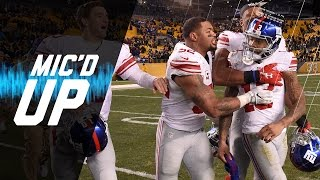 """I'm About to Touchdown Right Here"" - A.B. 