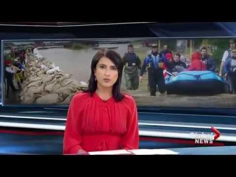 Balkans struggle with historic flooding