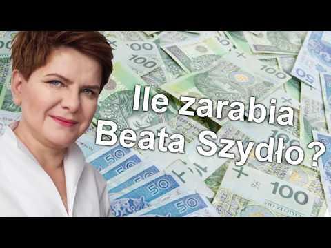 Ile zarabia Beata Szydło!