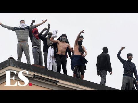 Coronavirus Italy: riots over coronavirus at San Vittore prison in Milan