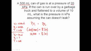Solving Combined Gas Law Problems - Charles