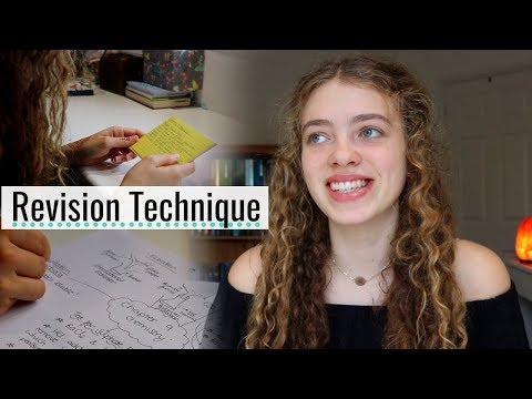 New Revision Technique that ACTUALLY works: