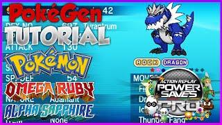 PokeGen Tutorial ORAS Powersaves: Pokemon Modifier (Omega Ruby Alpha Sapphire)