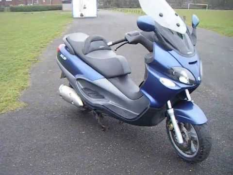 piaggio x9 500 sl for sale - youtube