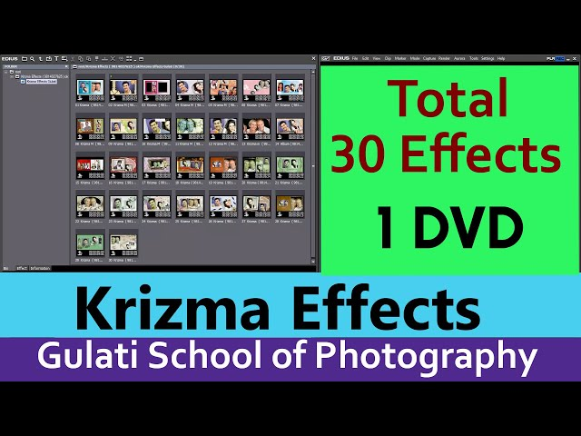 06 Krizma Effects | Wedding Effects For Edius 7, 8 & 9 | Video Editing | Mask Effects (26 Effects)