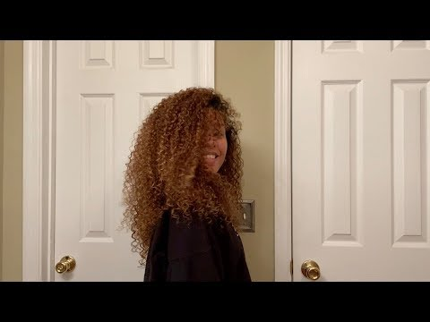 QUICK EASY Curly Hair Routine - NO DEVACURL