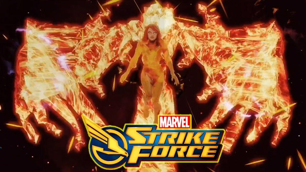 X-Men Phoenix Kit Reveal & Legendary Requirements - MARVEL Strike Force -  MSF