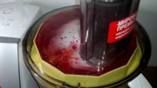 Калина сырое варенье. Как сделать джем из калины. Кухонный комбайн Бош мсм 5529